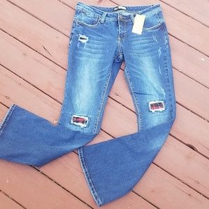 Suzanne Betro Bootcut Jeans, NWT, Size 10